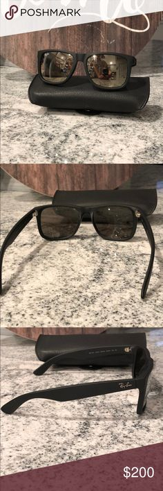 bf8527174d Shop Men's Ray-Ban Black size OS Sunglasses at a discounted price at  Poshmark. No scratches.