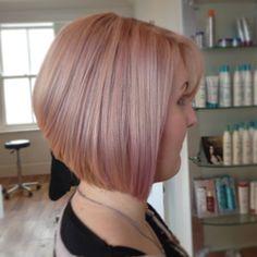 Rose gold hair love