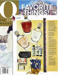 "The December issue of @Oprah featured Avon True Color Lots of Lips in ""Oprah's Favorite Things!"""