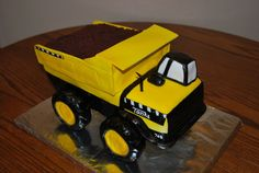Tonka Dump Truck on Cake Central