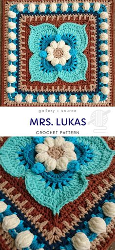 Mrs. Lukas Crochet Pattern