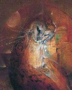 Susan Seddon Boulet - Animal Spirits, owl doorways before 1984