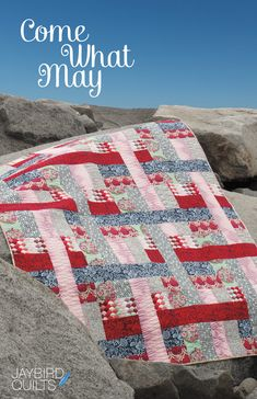 Come What May - Quilt Pattern | Jaybird Quilts - I want to make this just because the name is the same as my favorite song from Moulin Rouge.