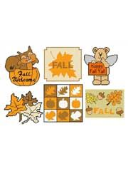 Easy Plastic Canvas Patterns - Fall Time in Plastic Canvas