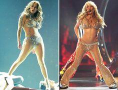 Jennifer Lopez and Britney Spears
