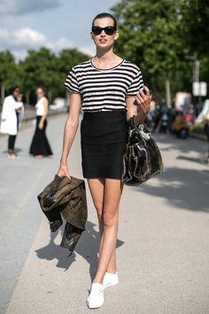 Paris Couture Fashion Week - Street Style