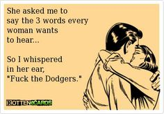 S.F. Giants are awesome ~ L.A. Dodgers suck