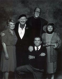 The original cast of the electric company in 1971 lee chamberlin making guest cameos in here comes the munsters are the surviving original show cast thecheapjerseys Image collections