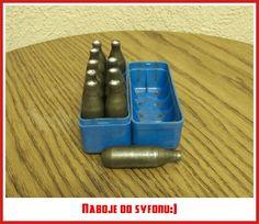 Naboje do syfonu:)
