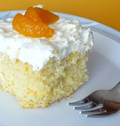 Family, Food, and Fun: Mandarin Orange Pineapple Cake