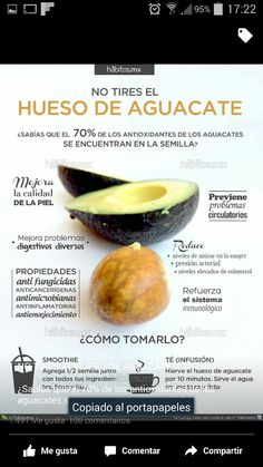 Propiedades del hueso de aguacate Natural Health, Health Tips, Health And Wellness, Health Fitness, Healthy Recepies, Healthy Quotes, Water Recipes, Healthy Shakes, Health Coach