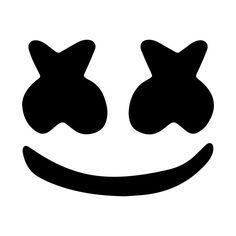 Marshmello face Art Print by BeatDrop - X-Small Marshmello Head, Marshmello Helmet, Bolo Dj, Wallpaper World, Marshmello Wallpapers, Face Stencils, Cool Stencils, Face Stickers, Face Framing