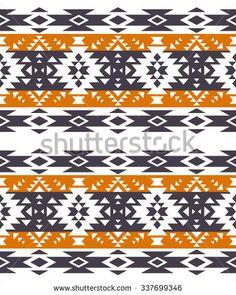 Oriental Motif Indigo dye Seamless Ethnic Floral Pattern Blue Retro Printed Side Split Swim Shorts