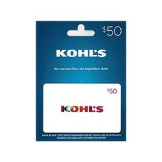 Win a $50 Kohl's Gift Card! ENDS @ MIDNIGHT MAR 1st! Mars 1, Gift Card Balance, Kohls, Promotion, How To Apply, Presents, Day, Christmas, Cards