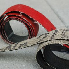Feuerwear Firehose Belt  By Feurwear  Add $50.00 to your cart for Free U.S. Shipping.  Read more about Shipping & Returns in our FAQ.  Why read when you can watch?! VIDEO REVIEW  + Made of upcycled (retired) firefighting hoses + Practically indestructible + Fairly made in the EU + Designed by two inspiring German brothers + Slick and easy to use nickel-free metal buckle + One size fits all - easy to adjust   Available in three colors: Red / Black / White