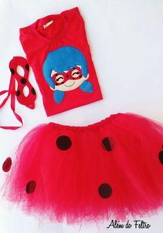 Fantasia Ladybug Ladybug Party, Lady Bugs, Miraculous, Barbie, Baby Shower, School, Birthday, Kids, Doll