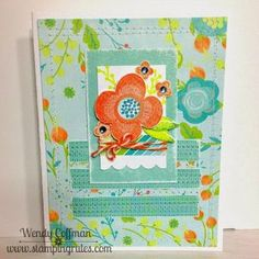 Day 72: AHSC Floral Blank Card