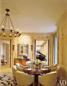 Traditional Dining Room by Sills Huniford Associates in New York, New York