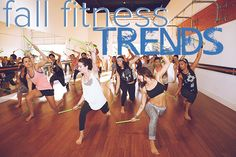 Indoor Fitness Trends for Fall -- including POUND, PiYo, Barre