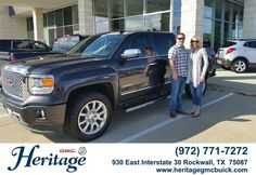 Congratulations to Jeff Cepak on your #GMC #Sierra 1500 purchase from Brad Tittle at Heritage Buick GMC! #NewCar