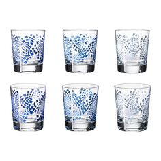 Godis Mix - a friend is getting me these from IKEA! Ikea, 6 Pack, Room Accessories, Pattern Mixing, Kitchen Utensils, Pint Glass, Interior Styling, Dinnerware, Coffee Mugs
