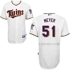 http://www.xjersey.com/twins-51-meyer-white-cool-base-jerseys.html TWINS 51 MEYER WHITE COOL BASE JERSEYS Only 40.68€ , Free Shipping!