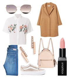 """Untitled #33"" by frid1445 on Polyvore featuring Vans, AG Adriano Goldschmied, LMNT, Rails, Smashbox, Zoë Chicco, Fendi and MANGO"