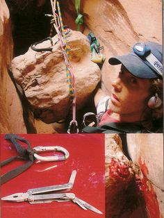 AdictaMente: Increíbles casos de supervivencia extrema. ~ Aron Ralston Life Is Short, True Stories, Surgery, Real Life, Scary, How To Memorize Things, Safety, In This Moment, Cool Stuff