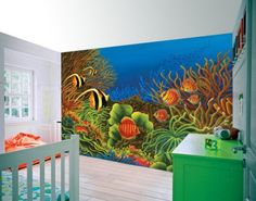 Large Wall Mural OceanKid in the