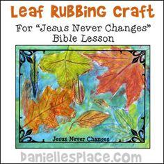 god never changes bible lesson