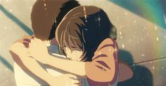 One-Shots LectorxPersonaje Anime - Levi Ackerman Anime Love, Sad Anime, Manga Anime, Anime Art, The Garden Of Words, Hug Gif, Anime Triste, Anime Gifts, Ghibli Movies