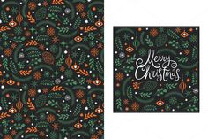 Christmas Cards by lenlis on Creative Market