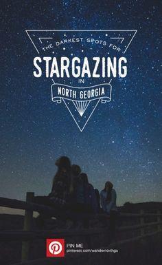 The Best & Darkest Spots to Stargaze in North Georgia