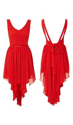 Ribbon tie dress