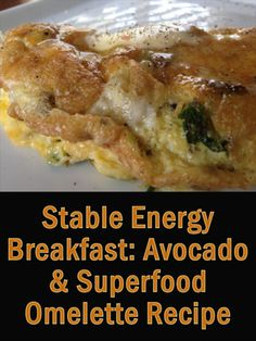 Here's a great tasting recipe for avocado omelette, packed with superfoods for a really healthy breakfast that will give you long lasting energy all day http://superfoodprofiles.com/avocado-omelette-superfood-breakfast