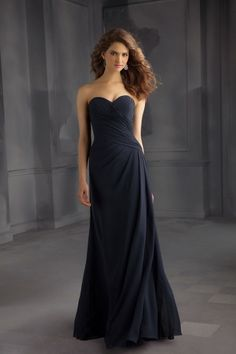 Bridesmaids by Mori Lee - 705. Visit us for additional information on this style including available colors swatches.