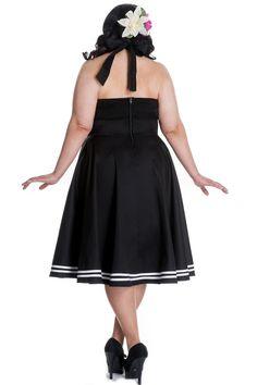 PLUS SIZE - Hell Bunny Black Motley Dress