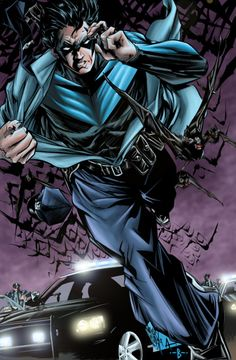 Nightwing dressing for the ocassion