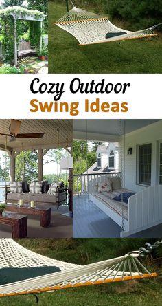 Cozy Outdoor Swing Ideas