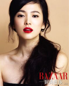 Song Hye Kyo for Harper's Bazaar China, October 2013