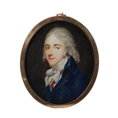 Charles Henard (French, 1757- after 1808), portrait miniature of a gentleman