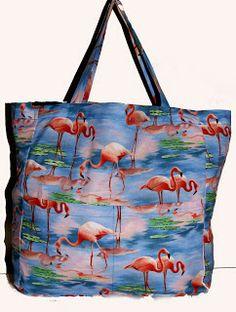 flamingos beach bag BaRRaCuDa SSHoP Flamingo Beach, Reusable Tote Bags, Stuff To Buy