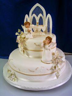 Resultado de imagen para tortas de primera comunion