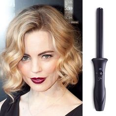 """Enter to win Sultra's The Bombshell 1 Inch Curling Iron on Poshly.com!  """"Gorgeous faux bobs and sultry long waves abound this #RedCarpet season, and we love it all! @SultraBeauty's Bombshell Iron is the best and easiest way to…"""""""