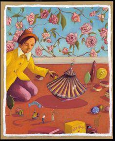Pastel à l' huile sur la route du cirque, Nexon. Nathalie Novi