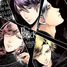 SolidS Unit Album BLACK Series Prince Of Stride Alternative, Tsukiuta The Animation, Animation Character, Magical Warfare, Vampire Knight Zero, Manga, Akuma No Riddle, Musaigen No Phantom World, Mahouka Koukou No Rettousei