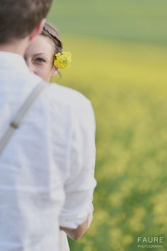 Canola field photography Engagement photography Engagement shoot Canola field…