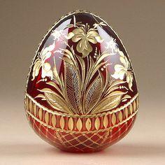 Frivolous Fabergè Fancies ❤ :: Gorgeous Crystal Egg