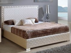 Dupen 643 Trenzado Bed - Dupen 870 Tiffany platform bed will create a visual fantasy in your bedroom using traditional shapes in the modern interpretation.