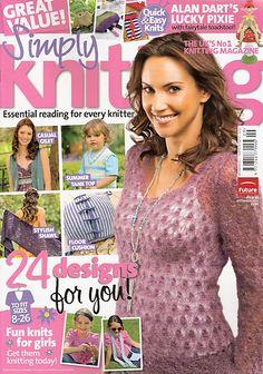 Ravelry: Simply Knitting 84, September 2011